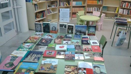 Nous títols de literatura per al fons de la biblioteca municipal